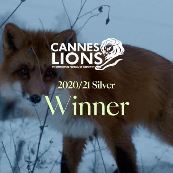 Andzej Gavriss won SILVER at Cannes Lions!
