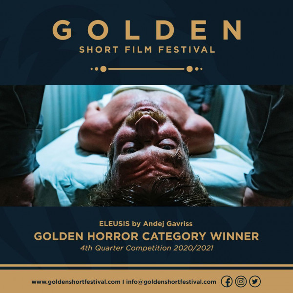 ELEUSIS wins GOLDEN Short Film Festival