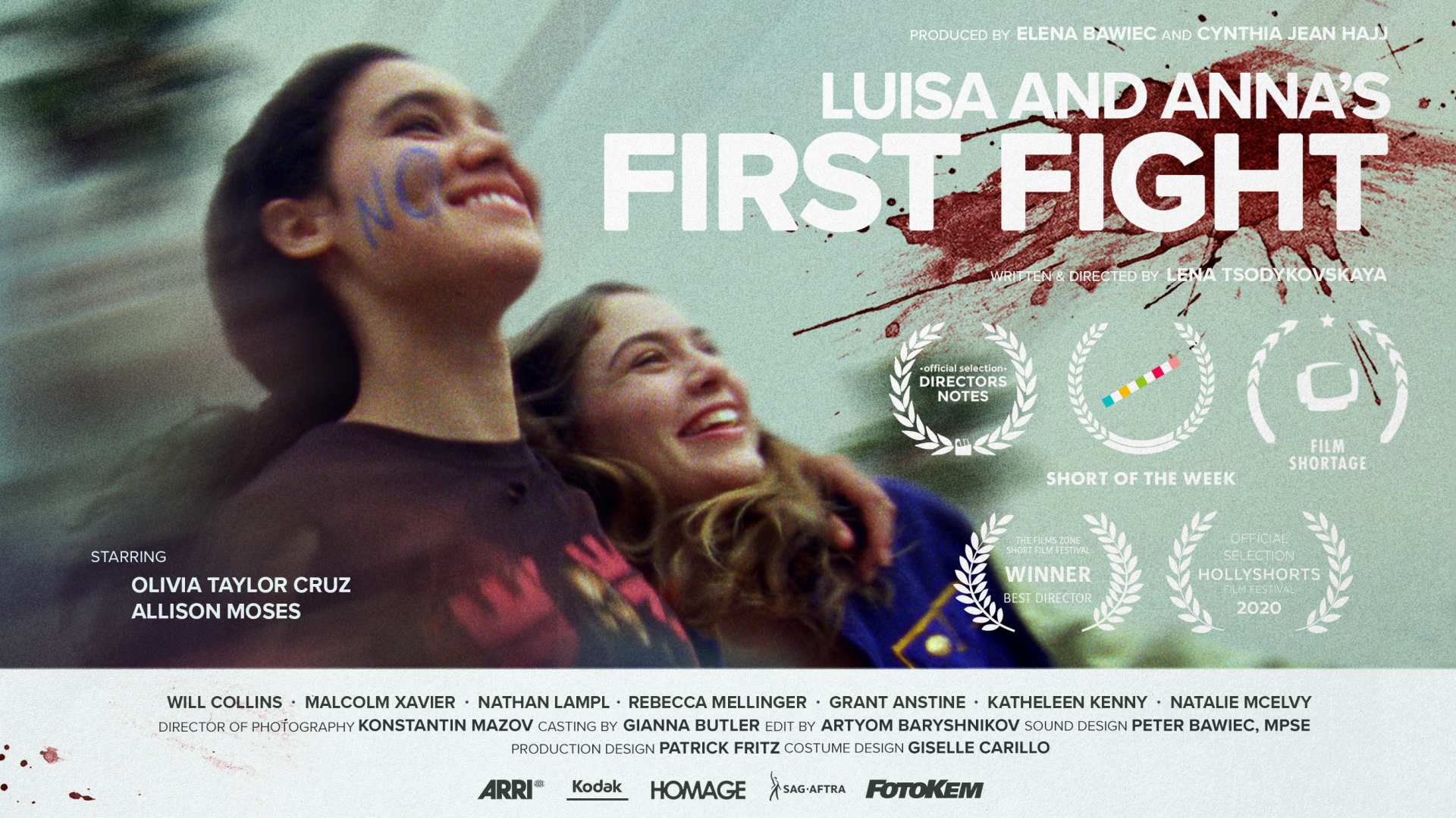 Luisa and Anna's First Fight